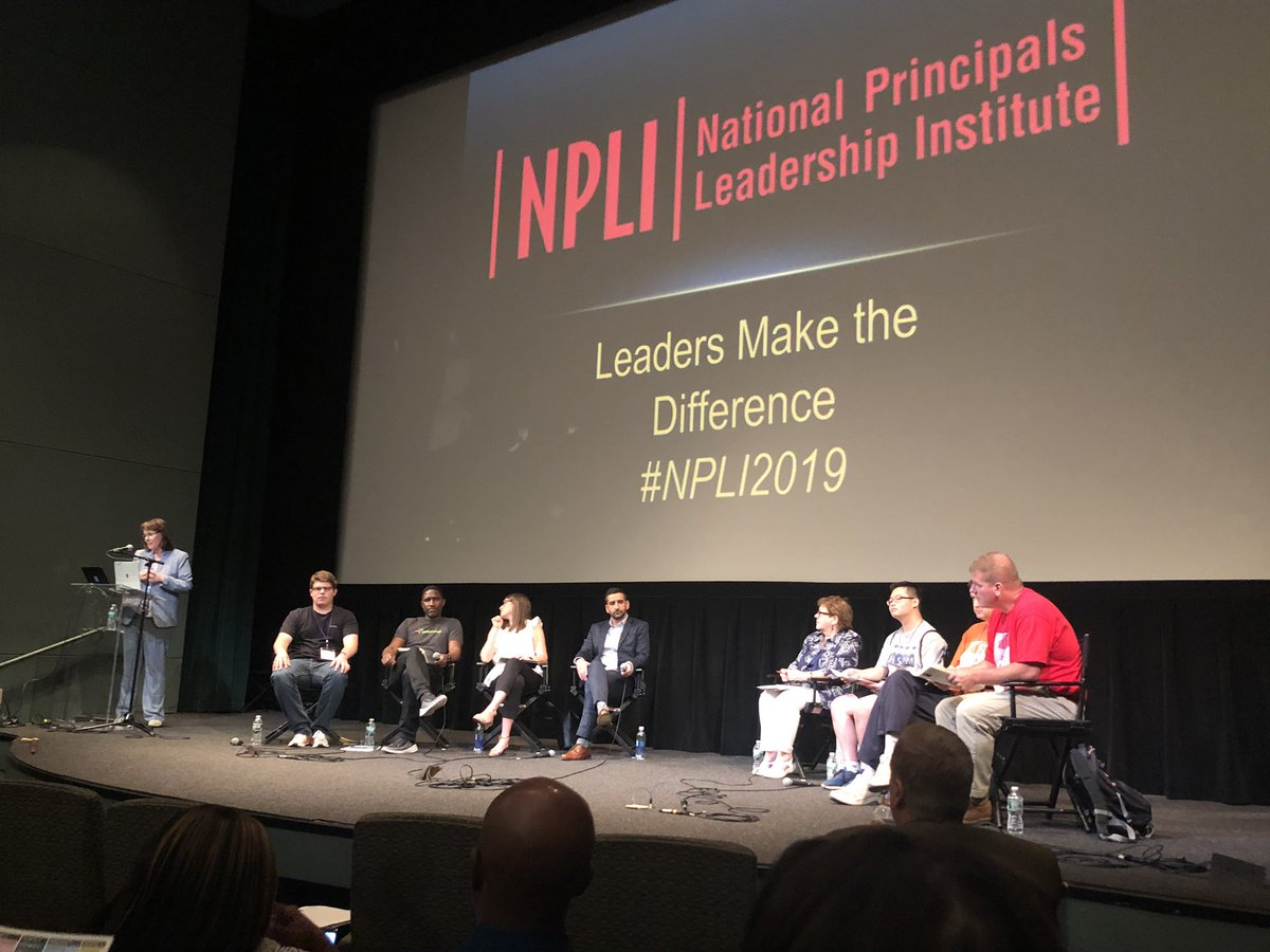 A full panel to discuss the Promise and Perils of Technology @NPLINYC #NPLI2019