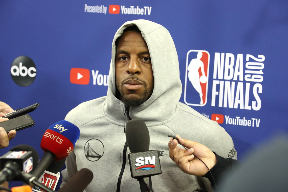 The two teams strongly pursuing Iguodala still are the #Rockets and the #Clippers. Our Insider @ShamsCharania with the latest on Andre Iguodala as interest and trade talks continue to heat up.