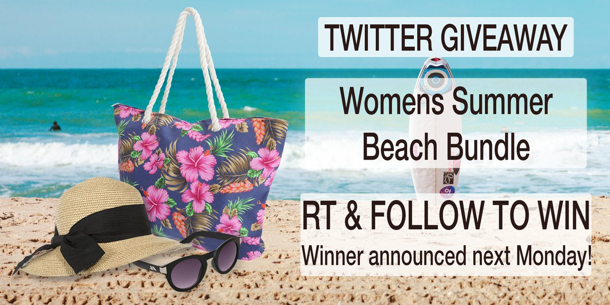 #Womens #Summer Beach Bundle #Giveaway! #Follow & RT to #win! Ends 22/07 #competition #prize #compers #contest #prizes #comping #prizedraw #MondayMotivation<br>http://pic.twitter.com/GWvD749CsW