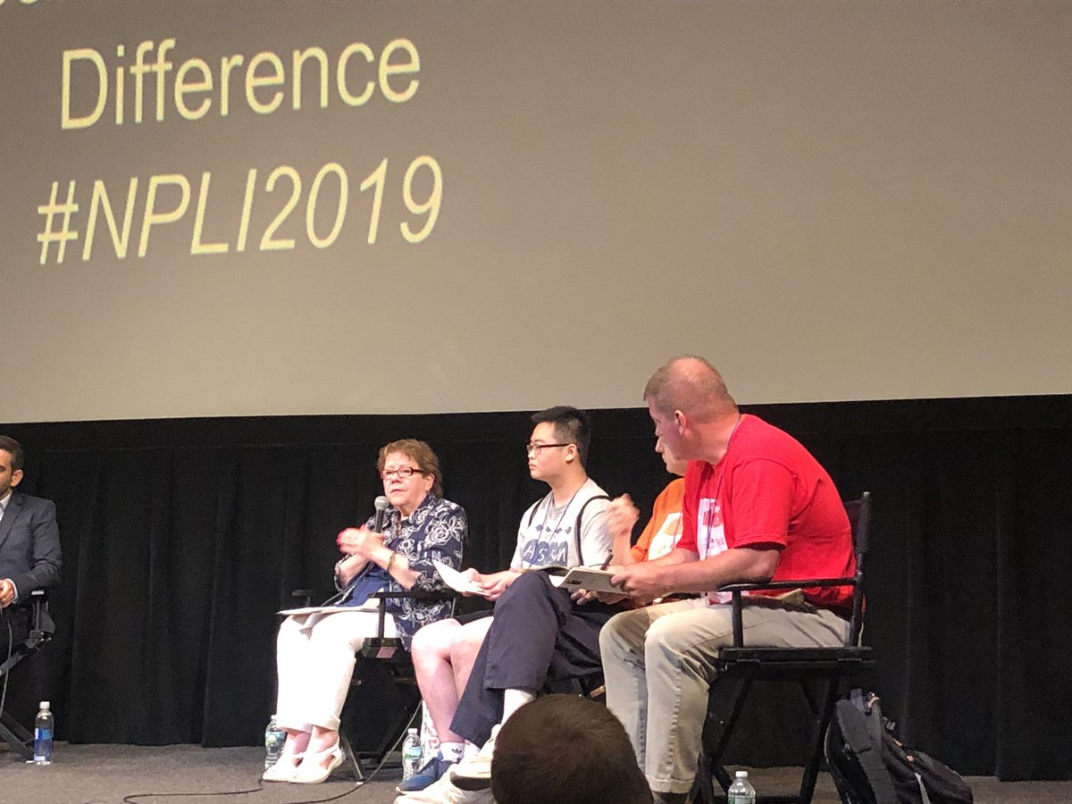 Peg Harrington @NPLINYC discusses the Perils of Technology and the importance of the appropriate implementation of technology. #NPLI2019