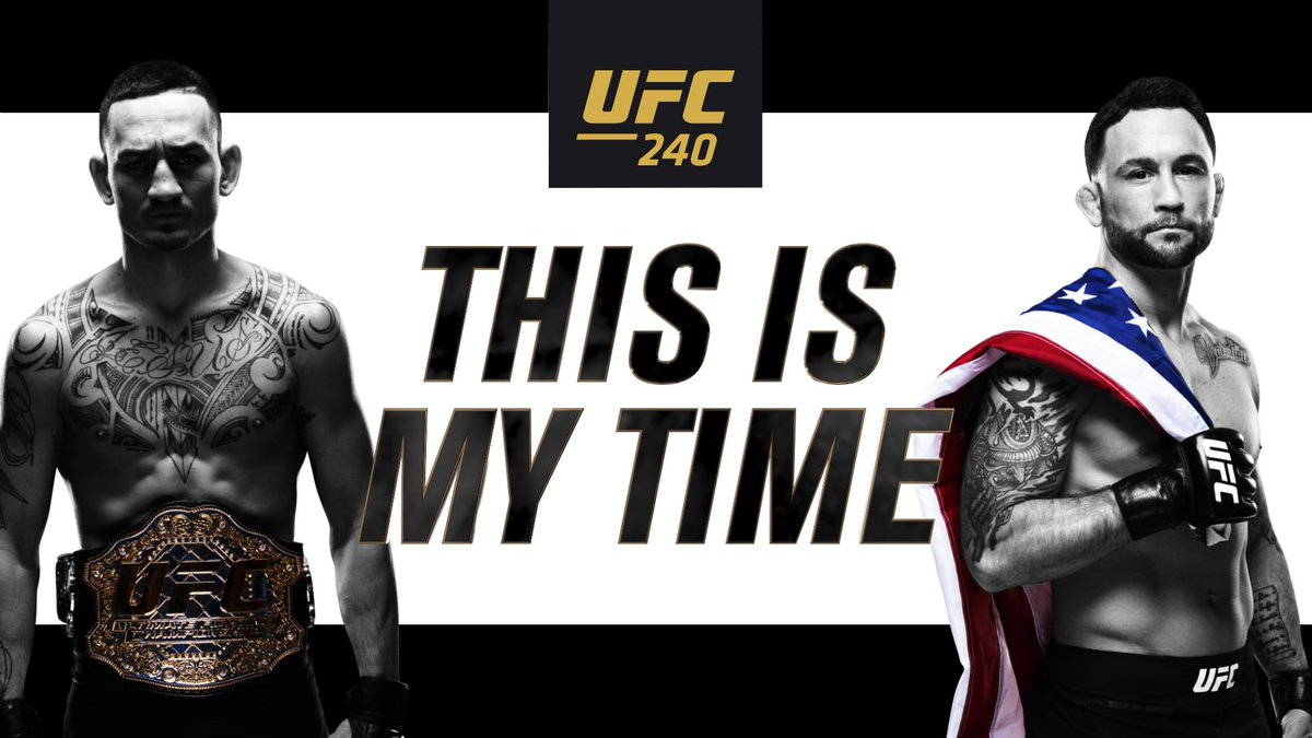 Max Holloway vs Frankie Edgar this Saturday at #UFC240!!