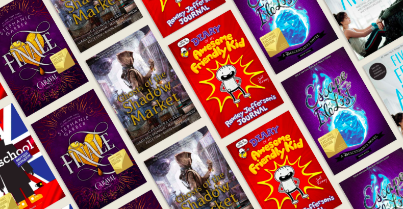 Get 40% off 100 top YA and kids' books! See the full list, and #BookYourSummer: spr.ly/6013EvAac