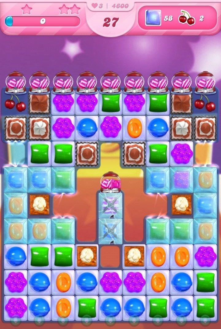 #CandyCrushSaga hace poco celebró el nivel #5000  Pues aquí voy en el nivel #4600.  Ja, no sé cuánto tiempo lo llevo jugando. 😂  Llego al 5000 y lo dejo. 😁😁😁