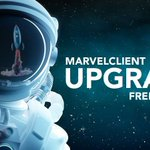 Image for the Tweet beginning: MarvelClient Upgrade Free is designed
