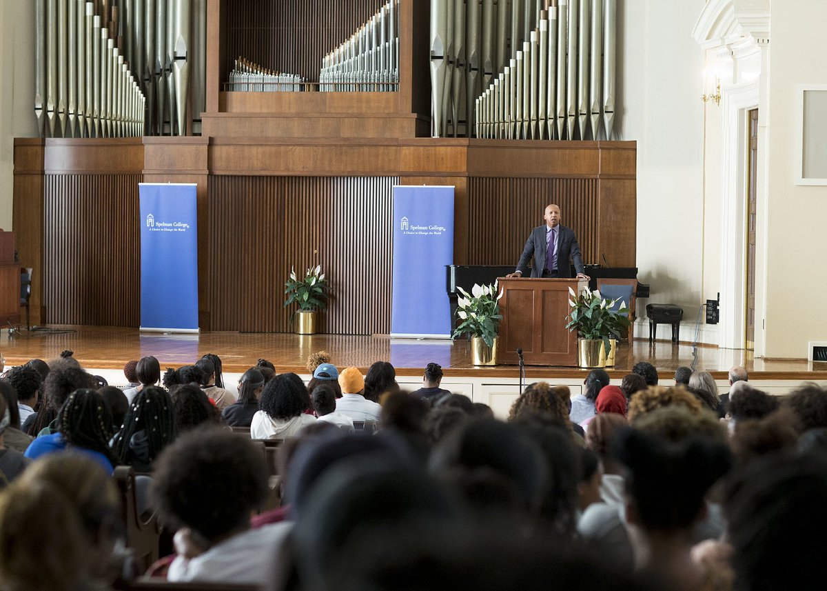 Somebody has to stand when other people are sitting. Somebody has to speak when other people are quiet. -Bryan Stevenson #MSCMondays
