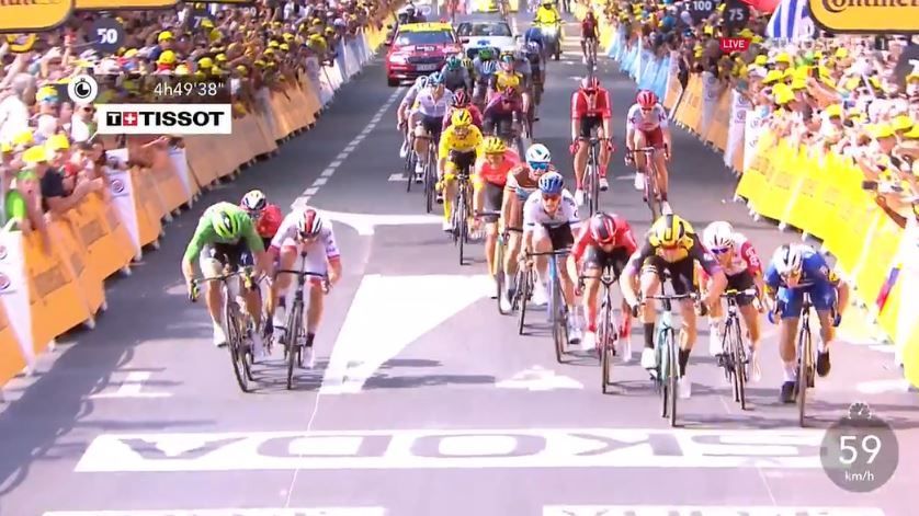 🇫🇷 #TDF2019  Wout van Aert wins stage 10 in @LeTour! 💪