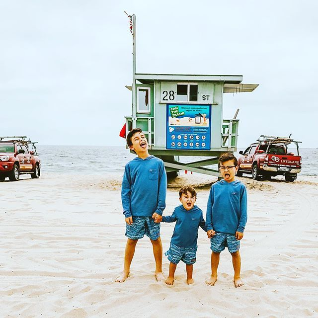 I always like to sit by the lifeguard tower at the beach so I know there will be an extra set of eyes on the boys in the water. #momhack #ministylehacker https://t.co/jbzzIy5lBS https://t.co/cWQXU2xYAK