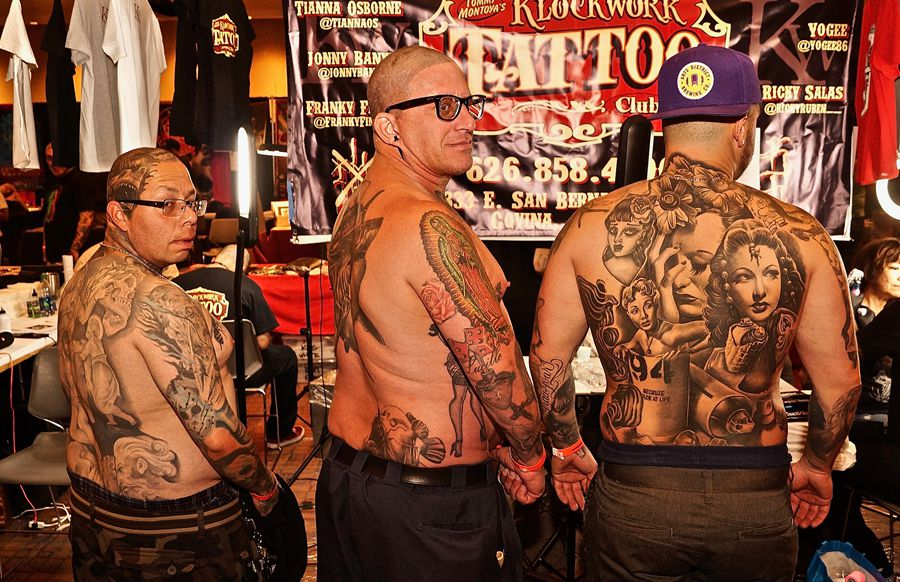 Body art! The U.S. New Mexico Tattoo Fiesta 2019 on July 12-14 attracts some 10,000 visitors, many of whom leave with new #tattoo