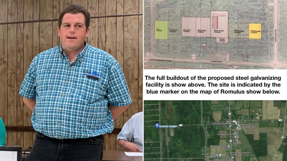 Proposed galvanizing mill in Romulus touted as environmentally benign, but many questions loom