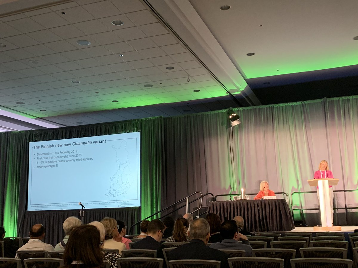 """Be sceptical"" Helena Seth-Smith, plenary, is quite right to raise questions about molecular #STI diagnostics - from false + and - results to diagnostic escape mutants #ISSTDR2019 #IUSTIWorld2019"