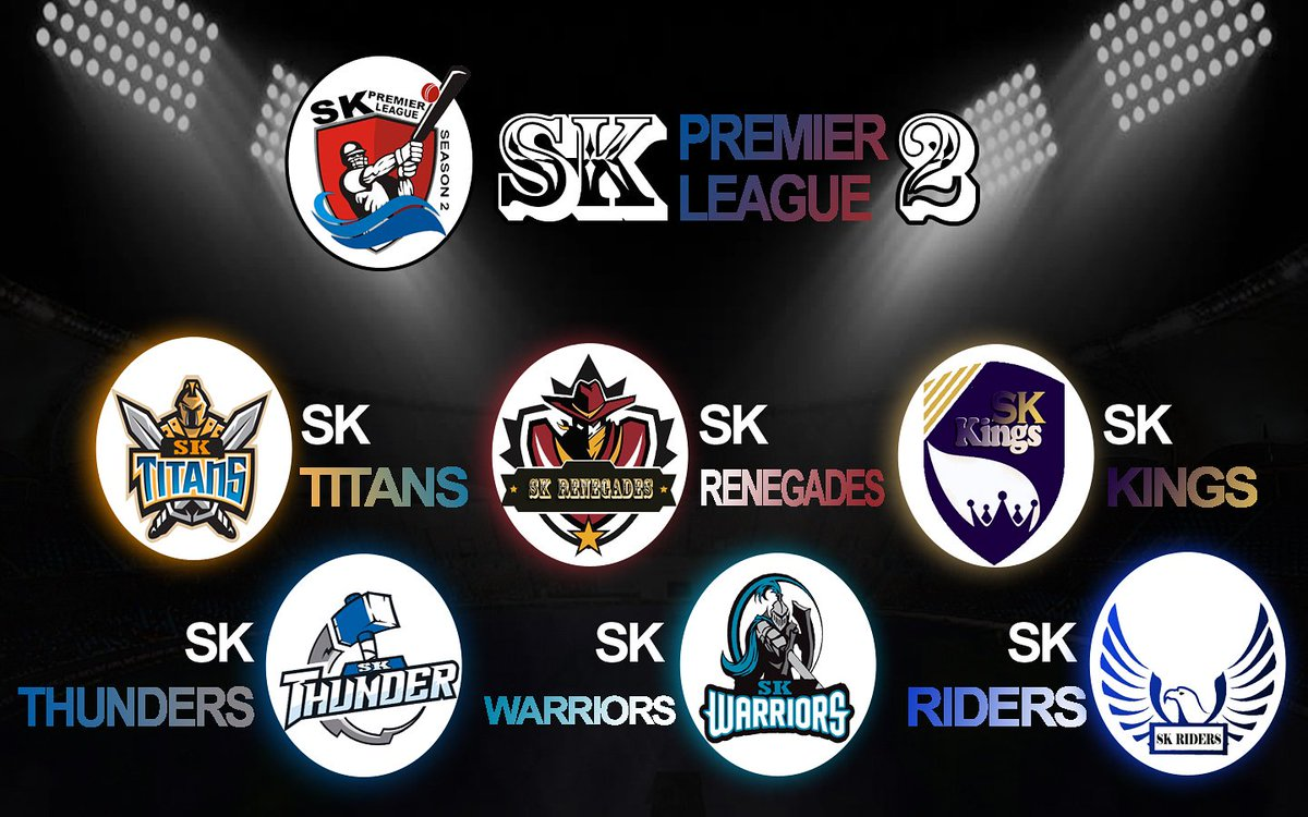 Good news for all the player's to be the part of skpl season 2. Today we launched six team's have a great luck to all the player's to become the part of your favorite team!  #SkPremierLeague #season2 #launching #cricket #teams #bhopal https://t.co/IUGvwWw3iN