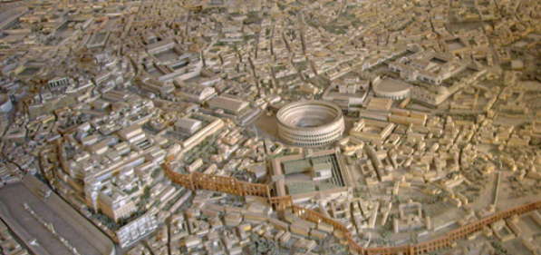 Ancient Rome revealed in stunning detail by 'most accurate model ever'...