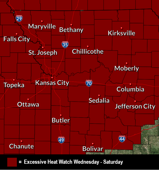 @NWSKansasCity's photo on Excessive Heat Watch