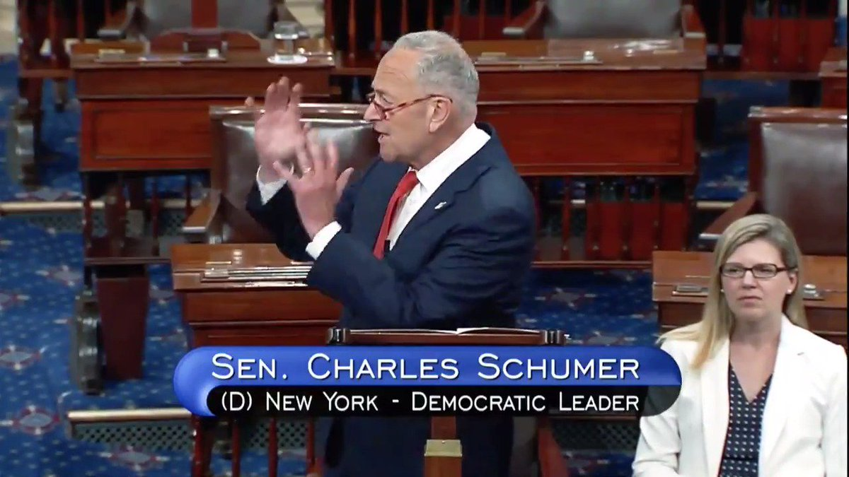 It is frighteningly common for my Republican colleagues to let these moments go by without a word  Democrats in the House plan to introduce a resolution denouncing @realDonaldTrump's racist comments  We intend to do the same in the Senate  We'll see how many Republicans sign on