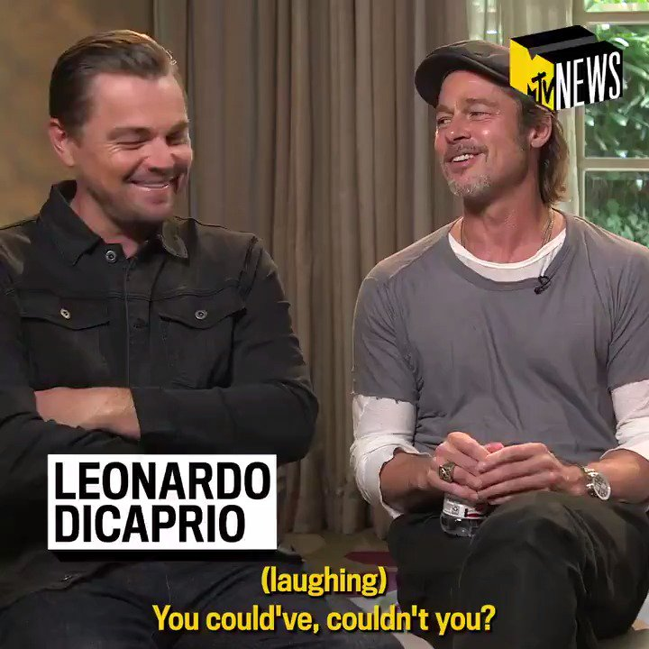 Brad Pitt and Margot Robbie Shaded Leonardo DiCaprio About That Titanic Door Scene