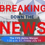 Image for the Tweet beginning: What is the CVS-Aetna merger,