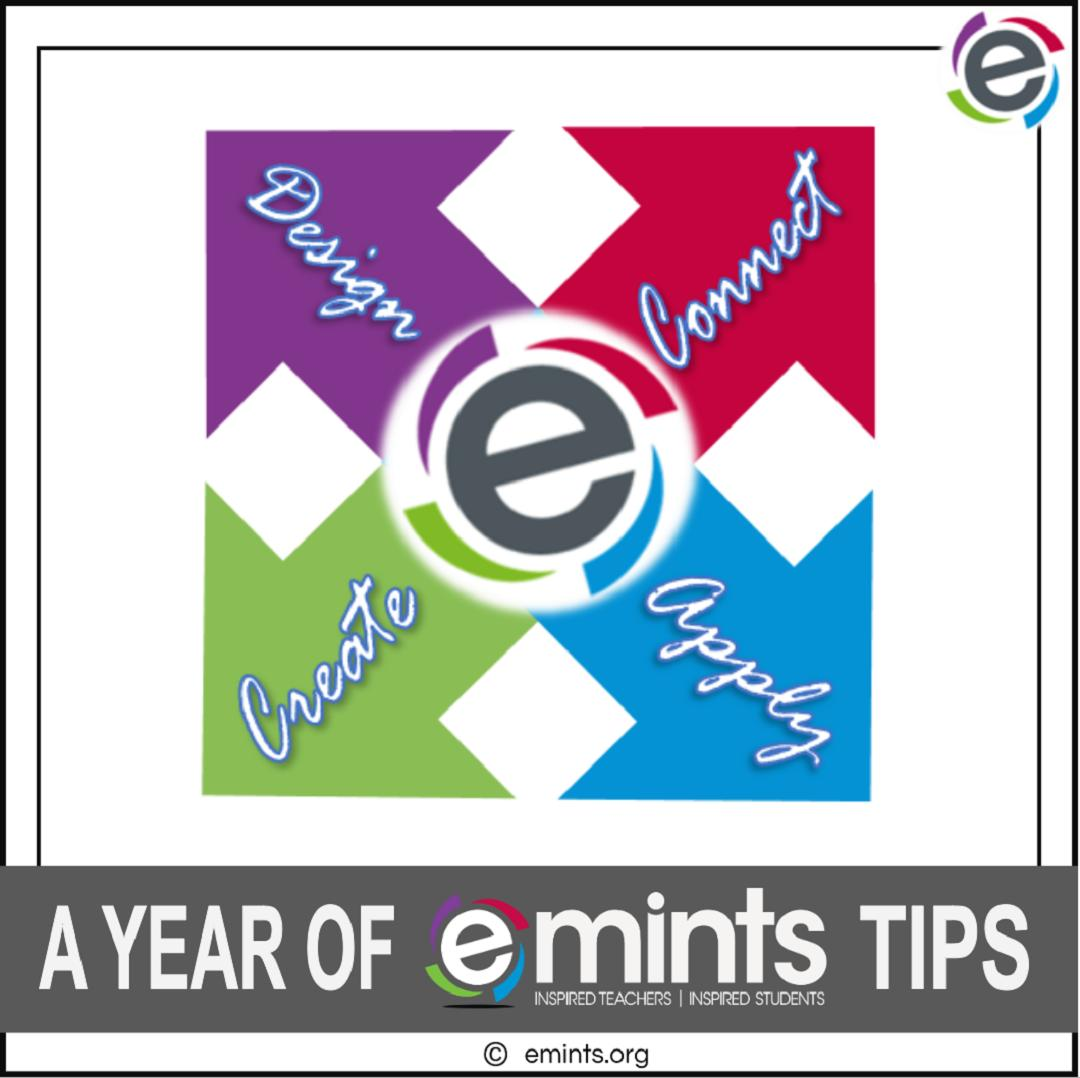 Hot off the presses! Check it out; a full year of #eMINTSTips in one place. View our @emints #emintstips ebook today at http://bit.ly/eMINTS-Tips  #emintsat
