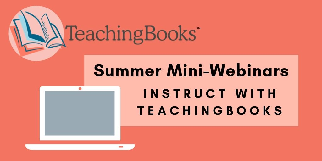 test Twitter Media - TeachingBooks has a new instruct section and we CAN'T WAIT to share it with you!  Discover easy-to-locate resources to support instruction -- from connections to standards to ready-to-use activities and literacy connections.   Join us to learn more: https://t.co/LhuCO8lwsB https://t.co/rCy3pGZHuJ