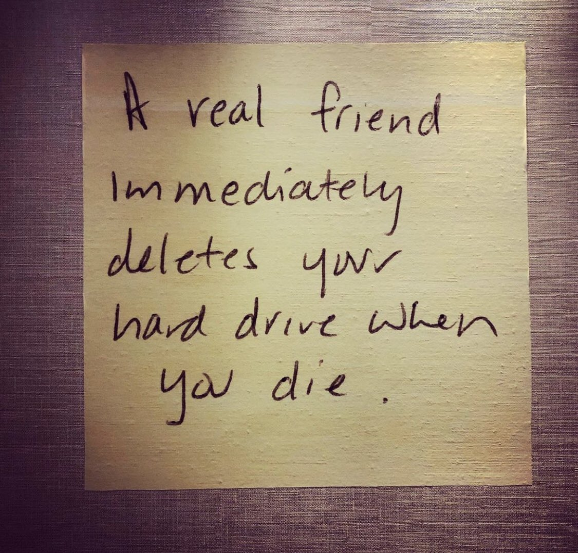 The real #friend according to the digital age metrics 😉