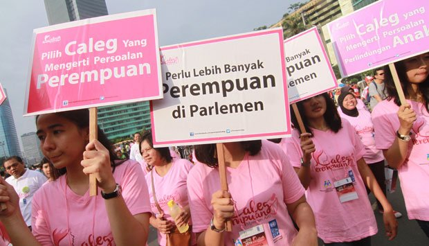 The General Elections Commission (KPU) @KPU_ID says that the 2019 general elections in #Indonesia have the highest women's representation at the House of Representatives post-reform. Via @tempodotco http://iknowpolitics.org/en/news/world-news/womens-parliament-representation-its-highest-post-reform… #womeninpolitics