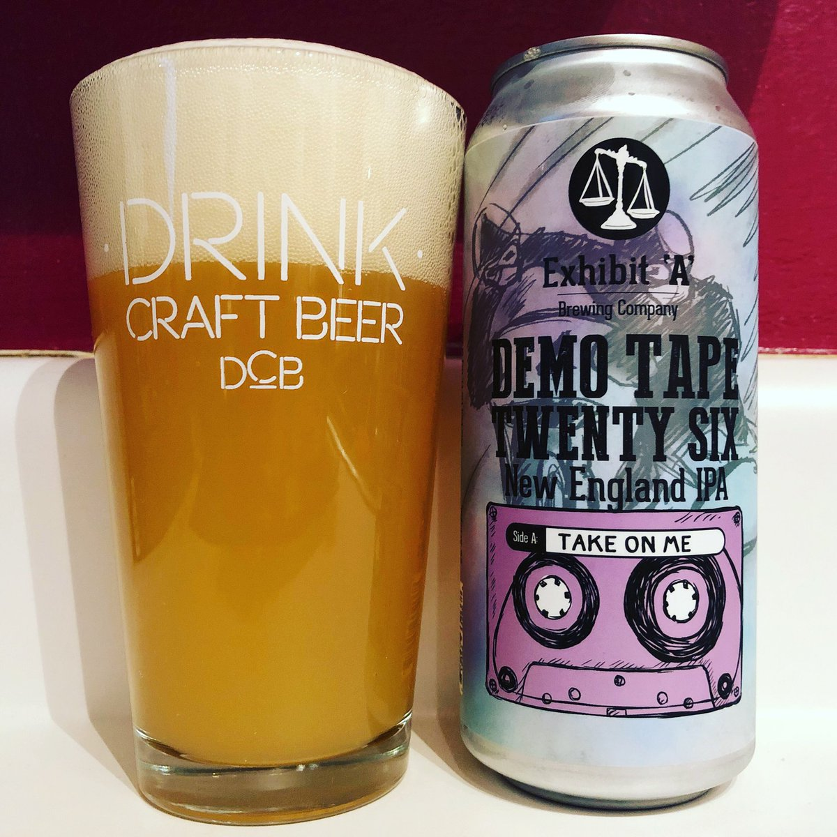 A nose full of tropical fruit followed by a creamy citrus flavor. Take me on! @exhibitAbrewing #drinklocal #MassBrewMonday