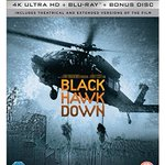 Image for the Tweet beginning: Black Hawk Down 4k Blu-ray
