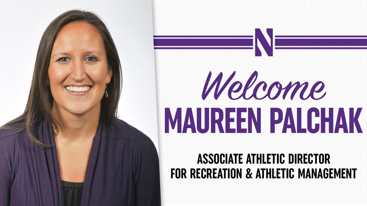 It's always rewarding to promote from within, as it speaks to @NorthwesternUs ability to recruit, develop and retain outstanding people. Congratulations to our new Associate A.D. for Recreation & Athletic Management, Maureen Palchak! 📰bit.ly/Palchak #GoCats