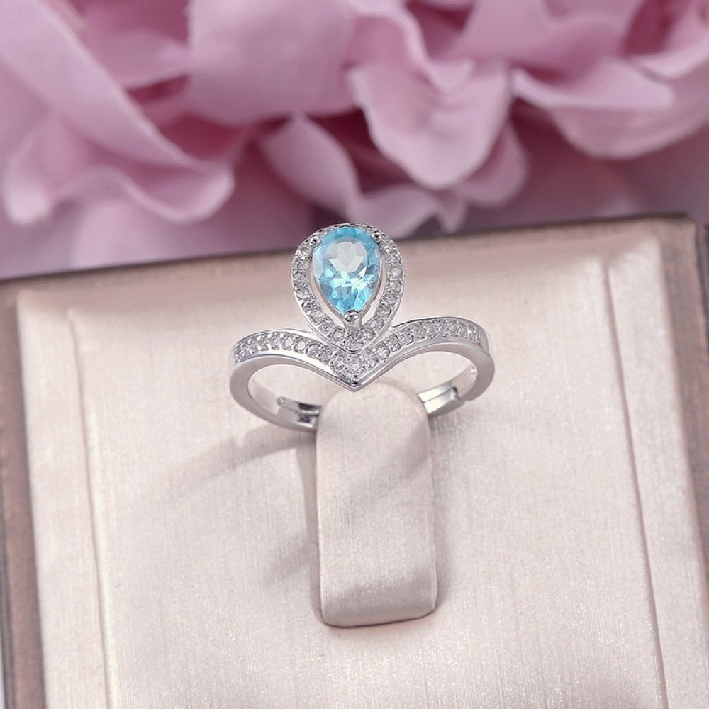 #hike #life 100% Natural Topaz Fine Jewelry Rings for Women 925 Silver Sterling Natural 7*5mm Blue Water Drop Gemstone Wedding Ring R-TO011 https://meglamour.com/100-natural-topaz-fine-jewelry-rings-for-women-925-silver-sterling-natural-75mm-blue-water-drop-gemstone-wedding-ring-r-to011/…