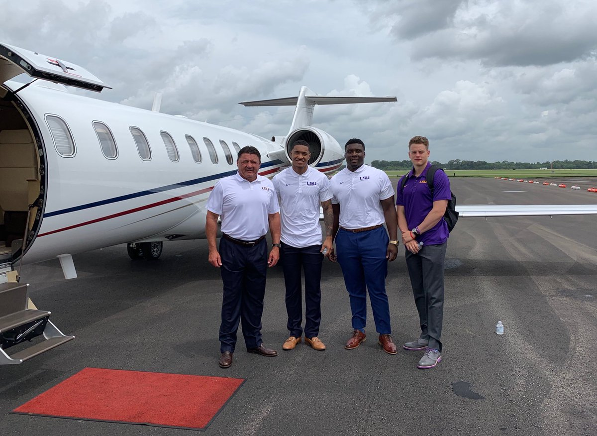 Heading to SEC Media Day with The Tigers!