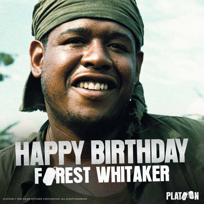 Happy Birthday to the iconic Forest Whitaker!