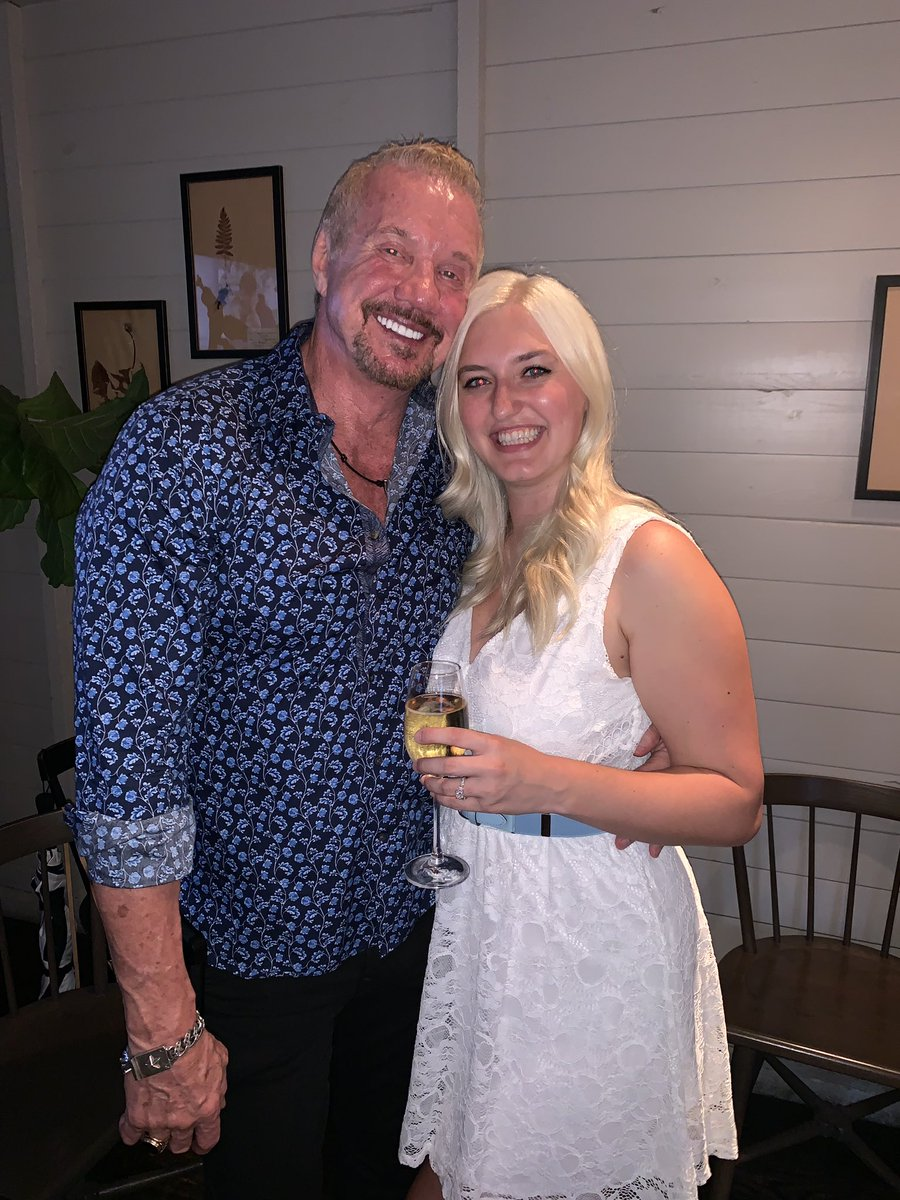 Congratulations to my #diamonddaughter @thekimberlypage on her engagement to her fiancée Tim we are so proud to welcome him to the family love you both  DDP <br>http://pic.twitter.com/QAdfoqh4Vr