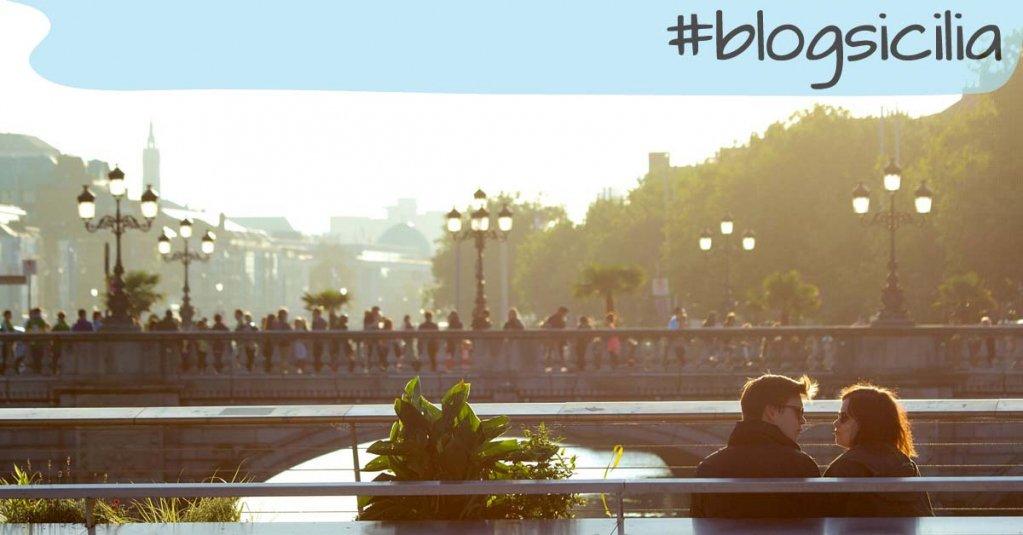 """""""L'aria fresca della sera è il respiro del vento che si addormenta placido tra le braccia della notte."""" U. Eco #blogsicilia"""