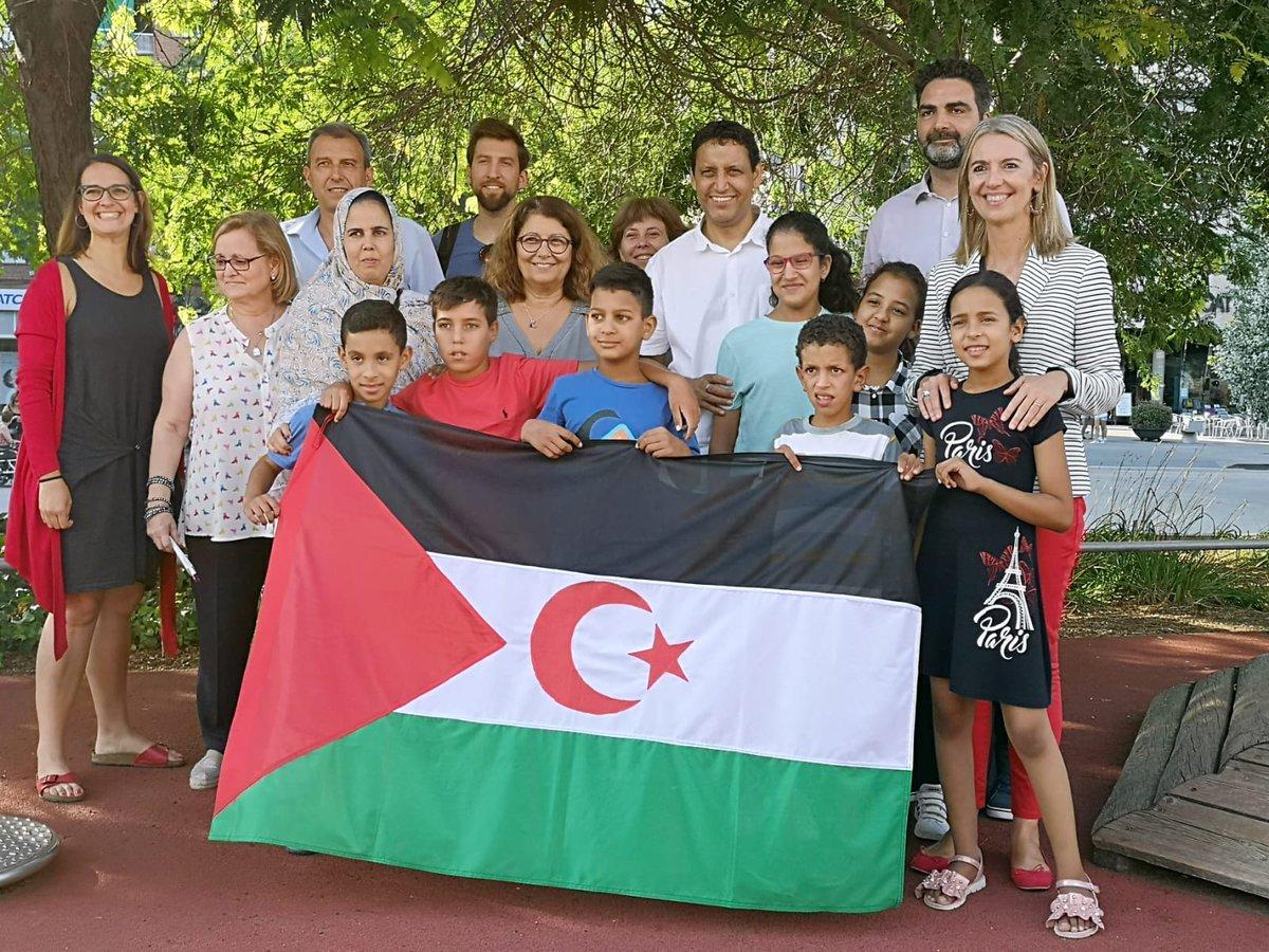#SantCugat dóna la benvinguda a 7 nens i nenes saharauis dins el projecte #VacancesenPau impulsat per l'entitat Sant Cugat amb el Poble Saharaui (SCAPS)  @mireiaingla @GemmaAristoy @pgorina1 @a_ciprian @MarcoSz4 @Polisario_