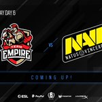 Image for the Tweet beginning: Match of the day! @team_empire