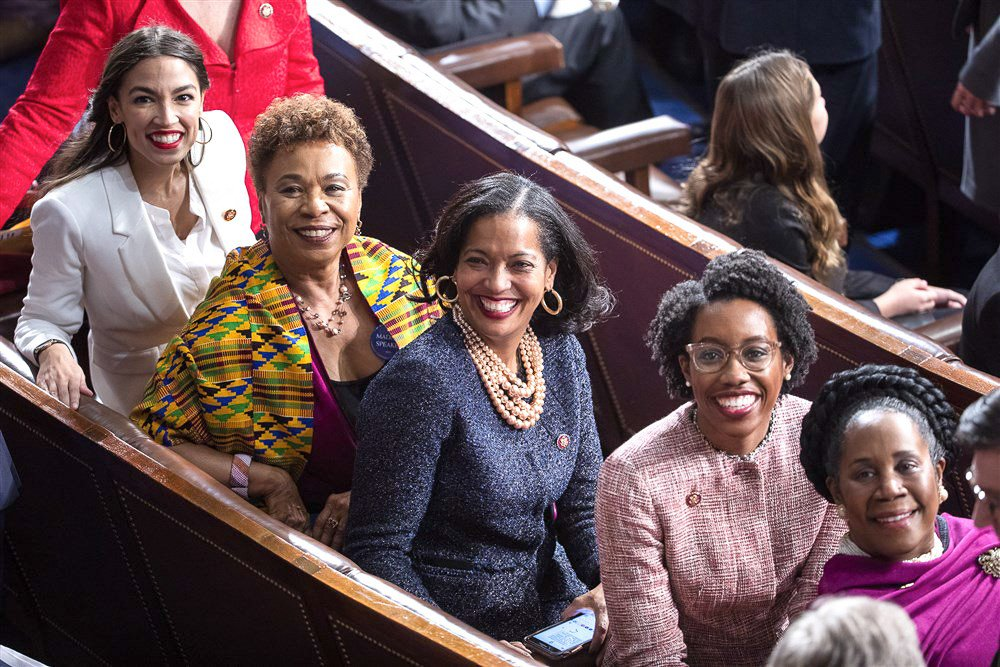 Women of color have more political power than ever before. We are Governors, Senators, Attorneys General, and Members of Congress. I stand with all of my sisters in Congress and across the country – were not backing down and we aren't going anywhere.