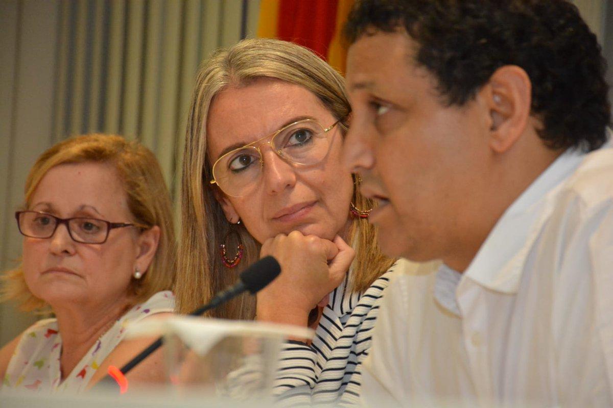L'alcaldessa @mireiaingla ha renovat el compromís de #SantCugat amb el projecte solidari #VacancesenPau i ha denunciat la vulneració de drets que pateix el poble saharaui. En aquest sentit ha afegit que SantCugat serà sempre una llar d'acollida pels i les saharauis  #SCAPS