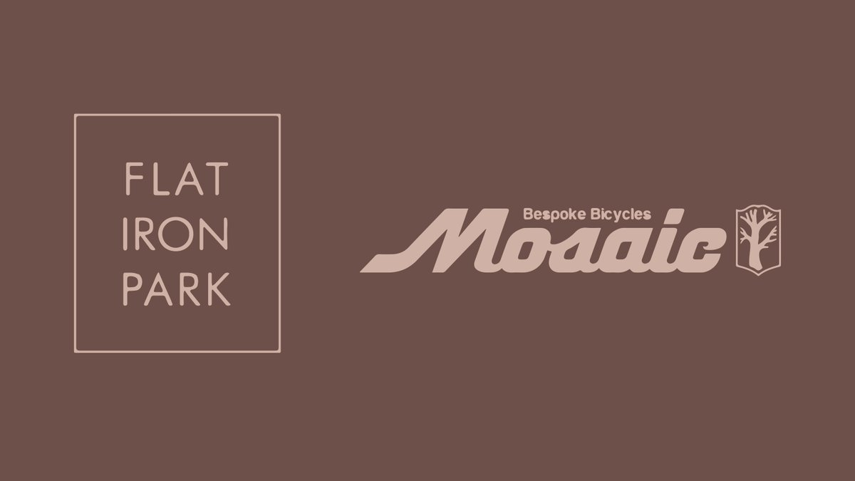 Shoutout to Flatiron Office Park residents and all around incredible bike manufacturer Mosaic Cycles!  #fpc2019 https://t.co/d9StDRJmyM