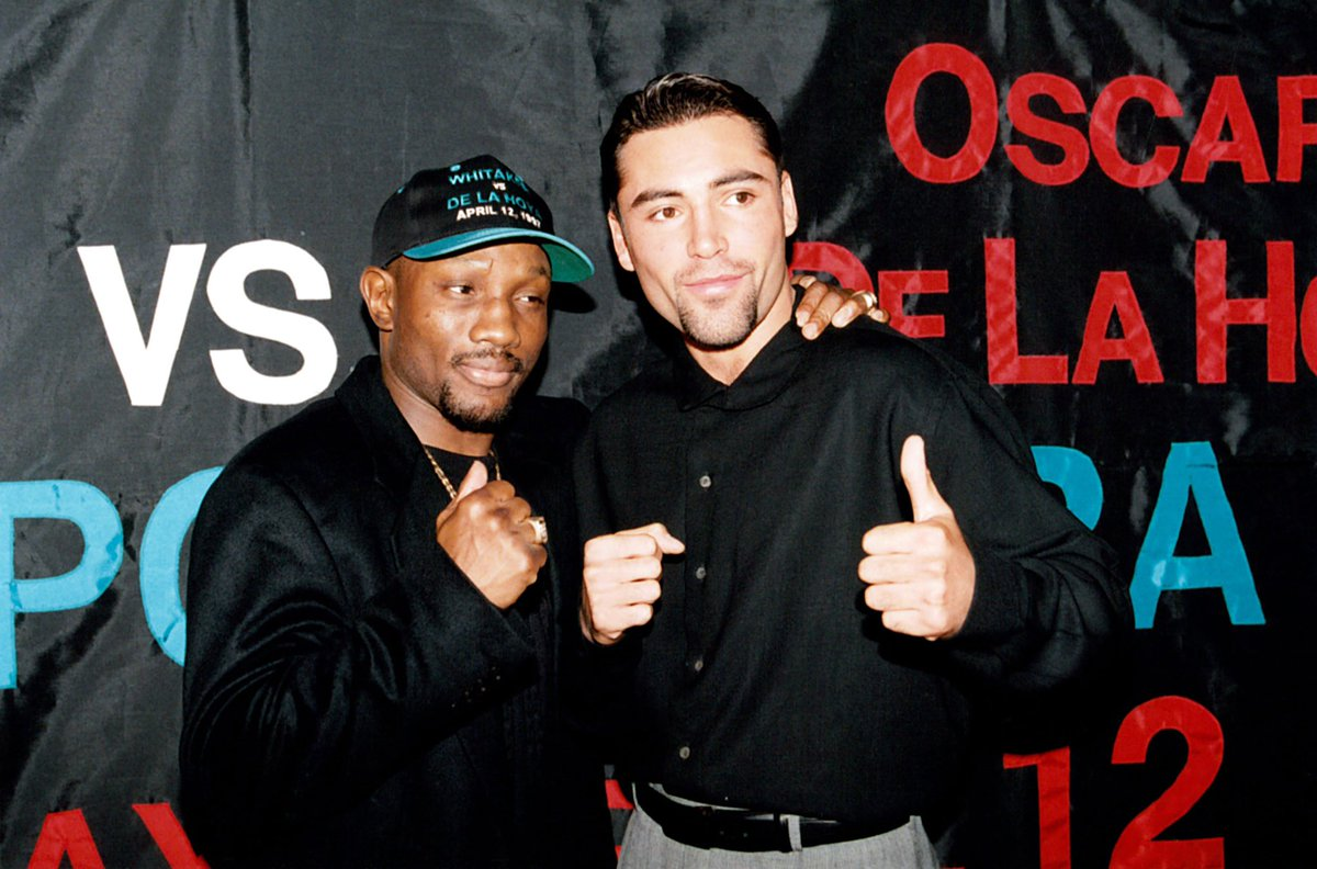 It was an honor to share the ring with him. In terms of his defense and ring generalship, Pernell Whitaker was the best fighter that I ever fought. On behalf of everyone at Golden Boy, we send our prayers and condolences to his family and friends. <br>http://pic.twitter.com/sa4qZIDIIG
