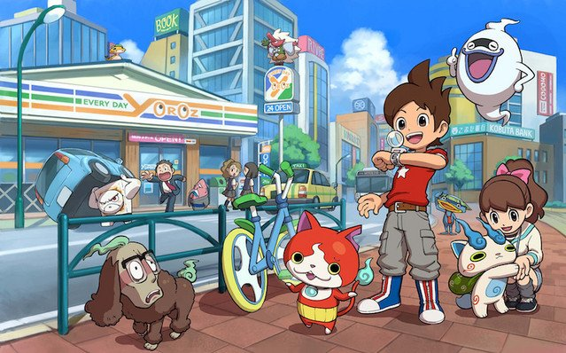NEWS: First Yo-Kai Watch Game Heads to Switch in Time for Lite Version✨ More: http://got.cr/yokailite