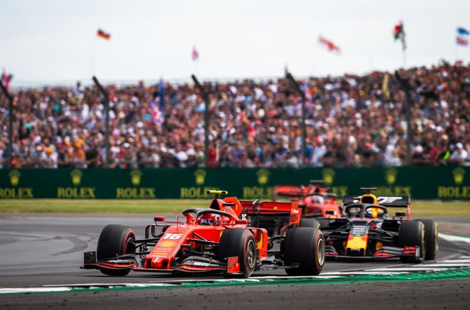 After their duel in Austria, @Charles_Leclerc and @Max33Verstappen delivered again a great performance at the #BritishGP in a tough, but fair fight. Photo: DPPI  #F1 #F1news #F1pic #f1memory #race #Forma1 #F1hirek #motorsport #autosport #hirugynokseg #kepugynokseg #picoftheday