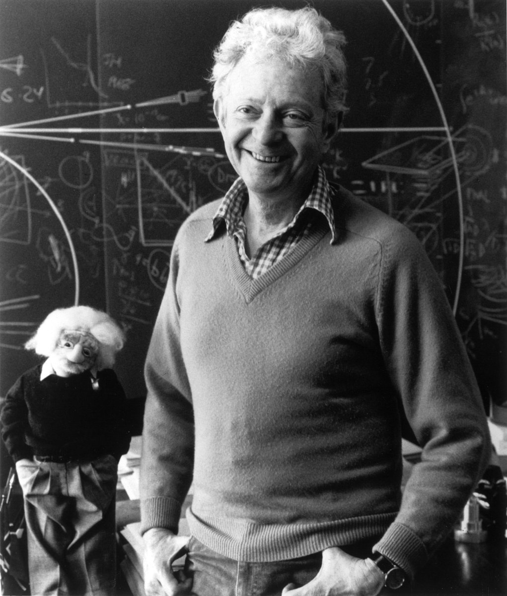 Remembering Nobel Laureate Leon Lederman who was born #OTD 1922.  Lederman, Melvin Schwartz and Jack Steinberger were awarded the 1988 Physics Prize for creating a beam of neutrinos using a high-energy accelerator and for proving the existence of the muon neutrino.