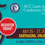 Image for the Tweet beginning: At the #ACCIntlConf in Colombia,