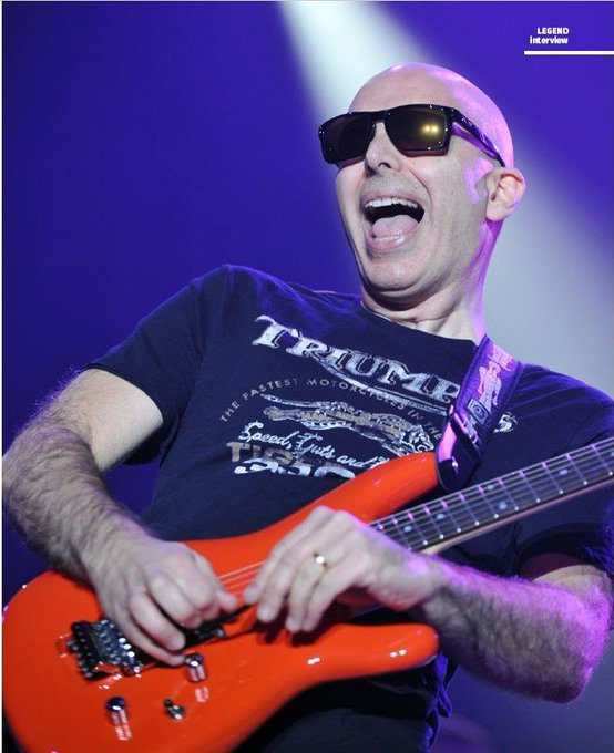 Happy Birthday Joe Satriani, guitar virtuoso born 7/15/1956.