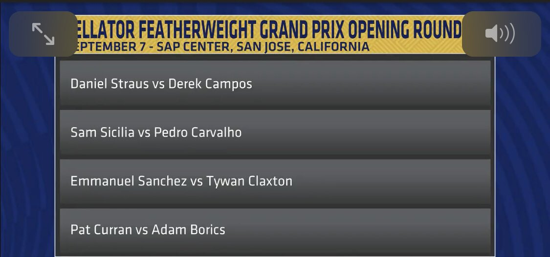 Here are the Bellator featherweight tournament participants as announced on #HelwaniShow.  @ScottCoker is on now with @arielhelwani