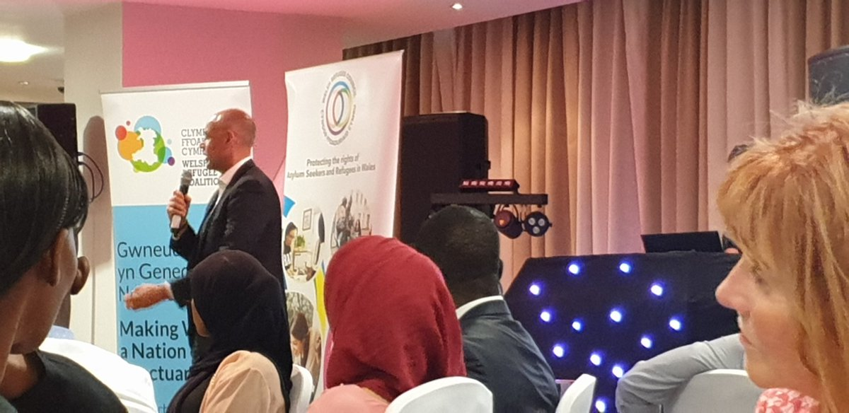 Its great to hear @jasonmohammad s story at #nationofsanctuary awards. Amazing ! twitter.com/RefugeeWelsh/s…