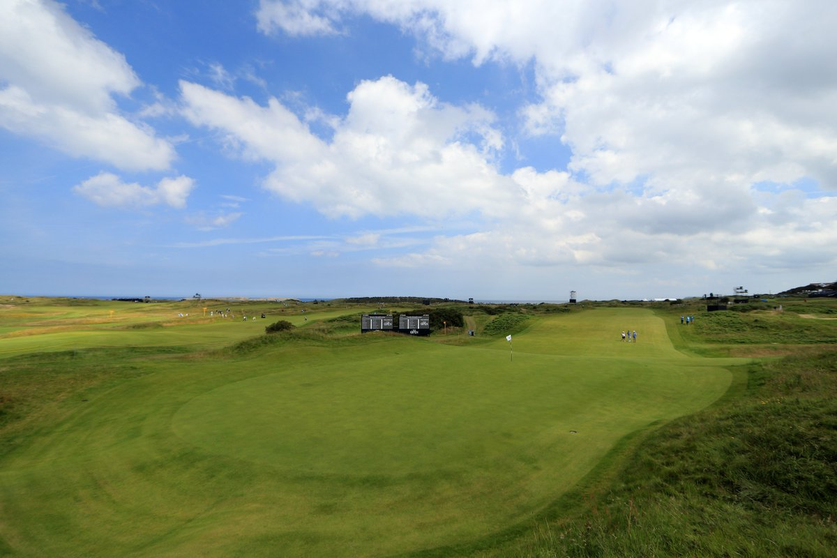 SOLD OUT ⛳️ Tickets for today are now sold out. Please dont travel to Royal Portrush without a valid ticket as none are available on the gate. #TheOpen