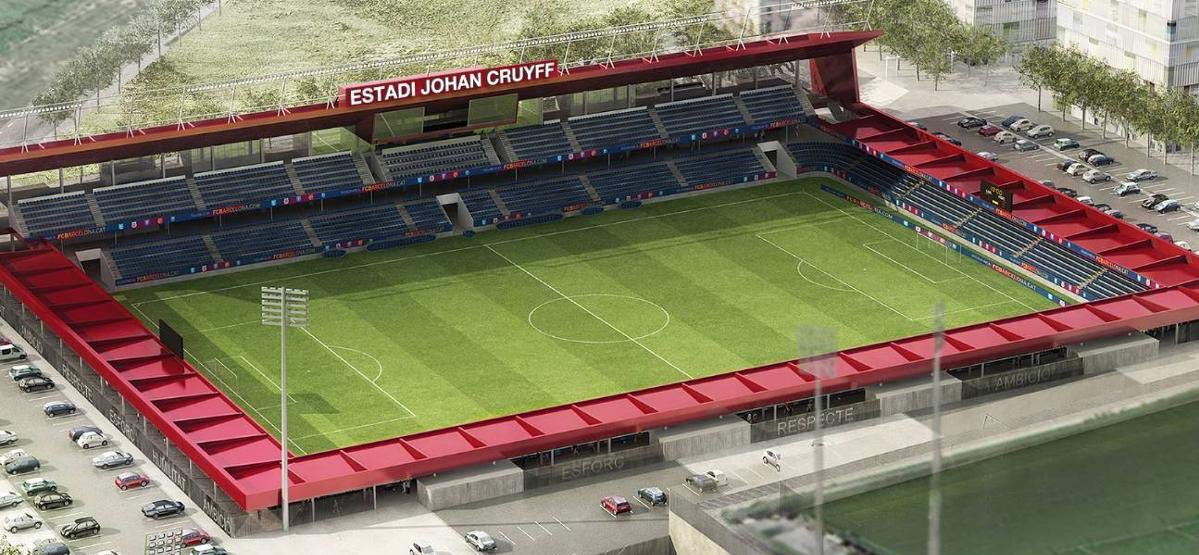 FC Barcelona will open the Estadi Johan Cruyff on August the 27th. On the same day Barcelona (U19) will play vs Ajax (U19). There will also be a statue unveiled of Cruyff.   Legend of both clubs. <br>http://pic.twitter.com/5dvhL6yv1y