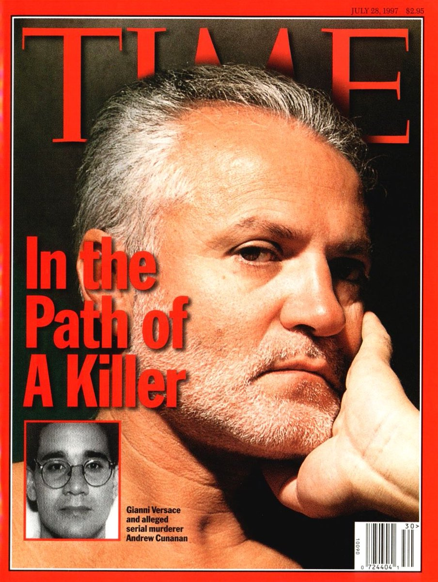 Retronewsnow On Twitter On July 15 1997 World Renowned Fashion Designer Gianni Versace Was Shot Killed Outside Of His Residence In Miami Florida Https T Co Rzfpwxlu2u