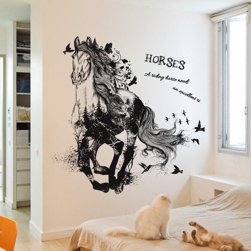 #bedroom #living #architect Horse Removable Wall Sticker Mural https://t.co/bPnr9rHOhk