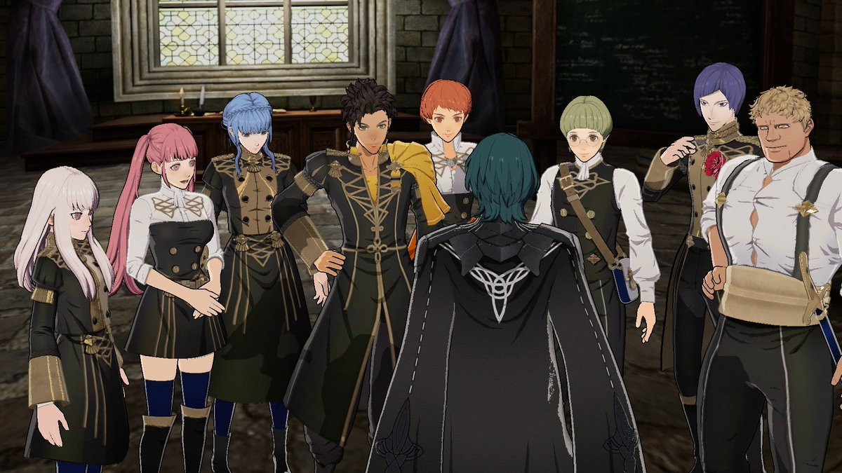 The Leicester Alliance are represented at Garreg Mach Monastery by students under the banner of the Golden Deer. Led by Claude, this rogue nation answers to no king! Will you side with Leicester Alliance when #FireEmblem: Three Houses arrives on 7/26?